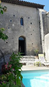 Photo for House 6 P in an old chapel of the XXII century with exteriors and swimming pool