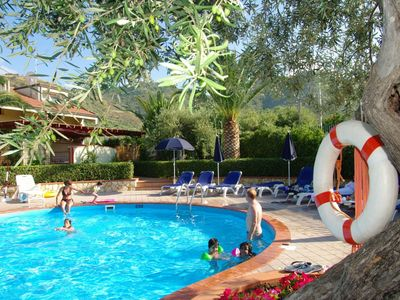 Photo for Fontana Barone Villa 6 - Semi-detached Villa with Swimming Pool, 600 Meters from a Sandy Beach ! - Free WiFi
