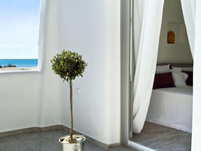 Photo for New, luxury house 20 meters from Agios Prokopios beach