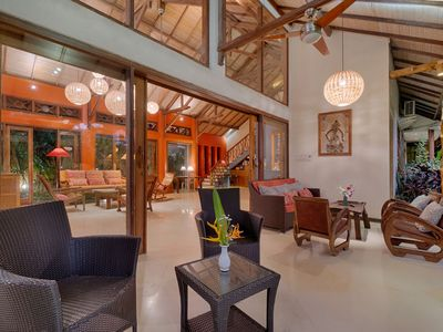 Photo for Stunningly Colorful Spacious, Artistic Bali House for Short Term Rent