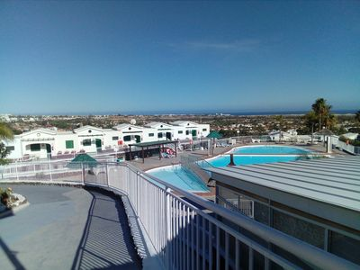 Photo for Free WIFI.Beautiful Bungalow overviewing the dunes of Maspalomas.