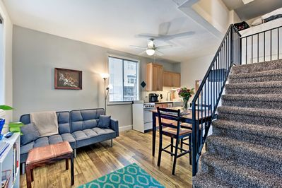 Experience the best of Salt Lake City from this ideally located apartment for 4!