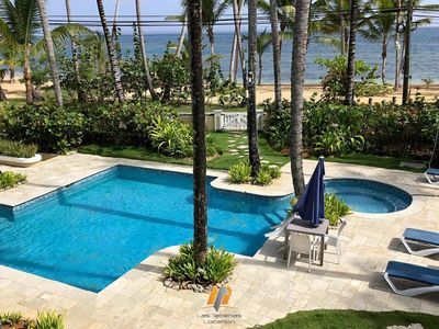 Photo for Stunning Apartment - Sea View / Pool-Jacuzzi / Beach 20M