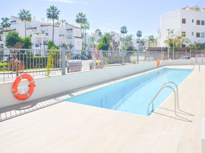 Photo for APARTMENT COSTA MARINA - LUXURY IN FRONT OF THE BEACH