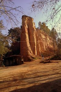 Photo for in the heart of the luberon regional park, on the edge of the colorado provencal de Rustrel