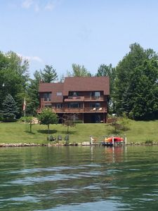 Photo for Beautiful Lakefront 5-Bedroom House On Northern Lake George
