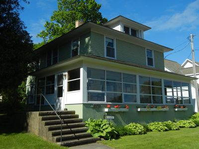 Photo for Fall Dates Available!  Across from FISH CREEK beach.  Walk to everything!