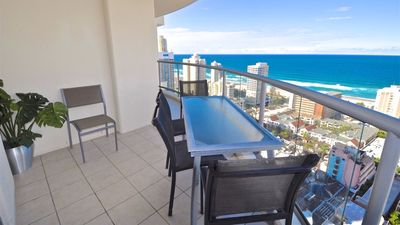 Photo for 25th Floor Superior 3 Bedroom 2 Bathroom Apartment with Ocean View