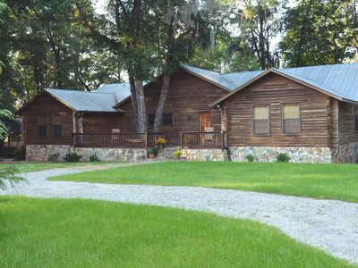 Photo for Welcome to Crane's Nest, a Peaceful Log Cabin with a Lake View
