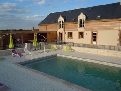 Photo for Spacious villas Region castles of the Loire for 15 persons.