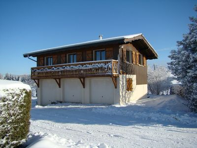Photo for Chalet, in the heart of the highest village of Vosges: THE TOP OF THE EARLY