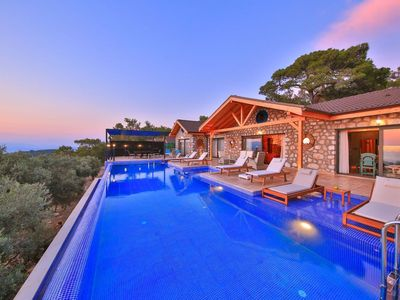 Photo for New Luxury 3 Bedroom Villa with Secluded Pool & Breathtaking Panoramic Sea Views