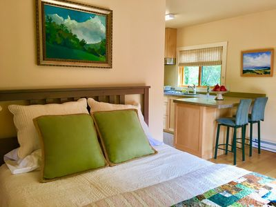 Photo for Mill Valley Nature Cottage. Sunny. Serene. Romantic Getaway. Hikers/Bikers Dream
