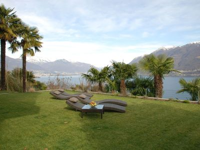 Photo for Wonderful private villa for 5 people with WIFI, A/C, TV, pets allowed and parking