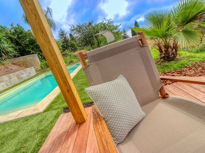 """Photo for 1 Bedroom Apartment in VENCE - Swimming pool and Spa """"Saint Tropez"""""""