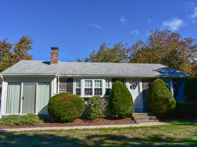 Photo for Northern Ln 4- Private wooded yard with large deck, less than a mile to beach