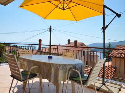 Photo for 2BR Apartment Vacation Rental in Rabac, Kvarner Bucht