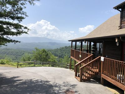 Photo for Above ALL - Unobstructed View, Central Location , Secluded Honeymoon Retreat