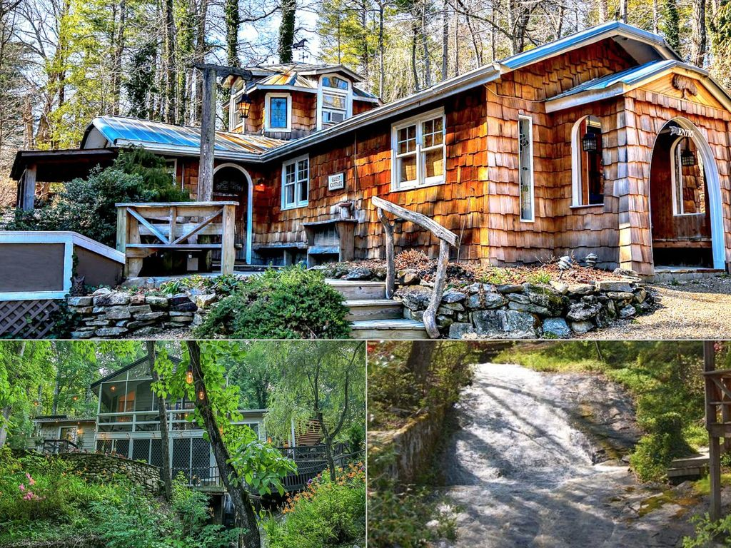 2 Stunning Homes On Waterfall Property, 5 Acres