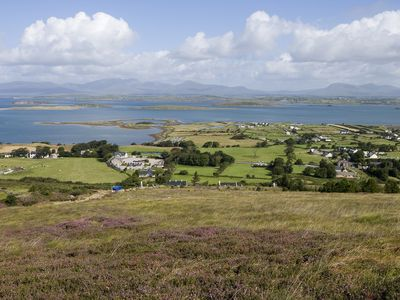 Clew Bay from the foot of Croagh Patrick