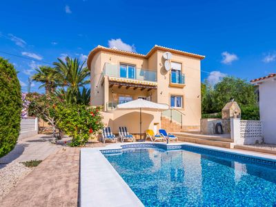 Photo for Casa Rambla - This Villa includes a private pool, WI-FI & A/C, Sleeps 8