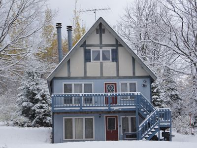 Photo for Snow Otter, Large Chalet located within walking distance of Big Powderhorn Mtn