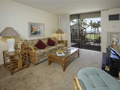 Photo for Kauhale Makai #331: Ocean Views from this 1 br condo at ocean front resort in S. Kihei. Sleeps 4