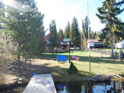 Photo for Beautiful waterfront property on Deka Lake