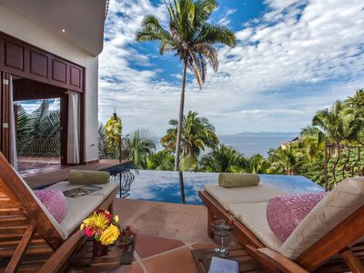 Photo for Exquisite Villa, A  Paradise set among the lush greenery with superb Ocean View