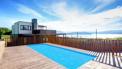 Photo for EcoHouse O freixo, spectacular sea views
