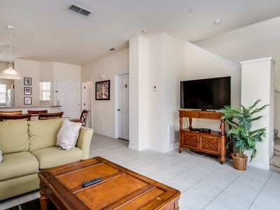 Photo for Beautiful Townhouse Private Pool and Resort Amenities Minutes to Disney !