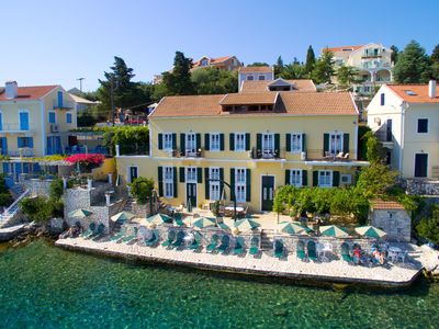Photo for Waterfront Apartments In Fiscardo, Kefalonia