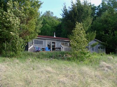 Photo for Agamiing Minwendam - Lake Michigan Cottage in Natural Setting