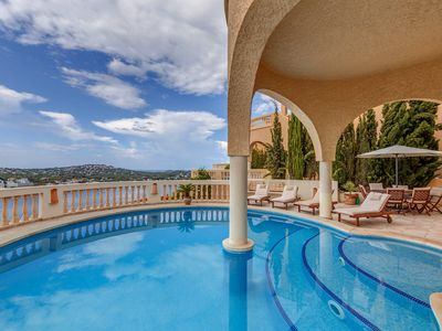 Photo for With sea view and pool - Villa Rothe
