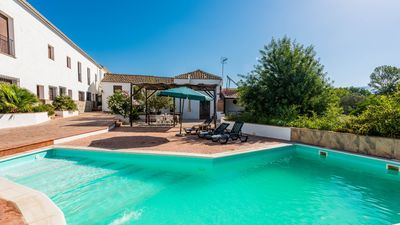 Photo for Impressive holiday villa for big groups near Antequera