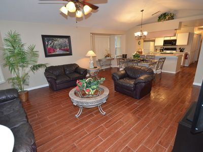 Photo for Gorgeous Newly Renovated.2 Pools.Gated Community.Minutes from Disney& Everyhting