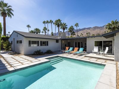 Photo for Circa 56 at Deepwell Estates - Mid Mod Dream Home! Walk to Palm Canyon Drive!