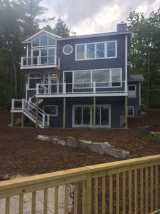 Photo for Brand New Craftsman Style Waterfront Home, Hanson Cove, Moultonborough