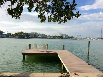 Photo for Luxurious Waterfront Villa/court yard/ with boat dock, kayak deep water