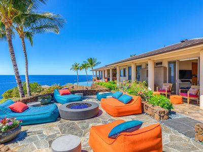 Photo for Ocean Front Luxury living w/ views from every room and Mauna Kea Resort access!