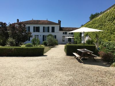 Photo for Peaceful, Private, Perfect! A lovely Charentaise property with pool and gardens