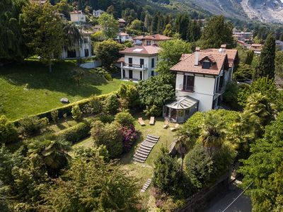 Photo for Villa Maria with garden and lake view in Baveno