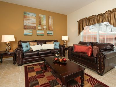 Photo for Minutes to Disney, Free Resort Amenities, Private Splash Pool, Washer & Dryer