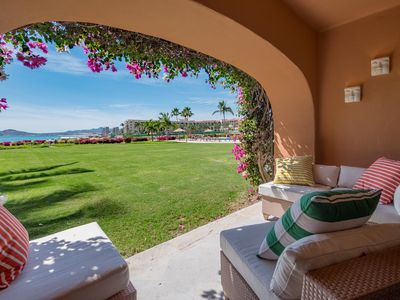 Photo for 2. A Luxurious Beachfront Condo - Only Steps to Private Pool & Seashore!