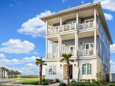 Photo for Spacious 5BR Luxury Retreat w/ Pool & 4 Covered Balconies, Boardwalk to Beach