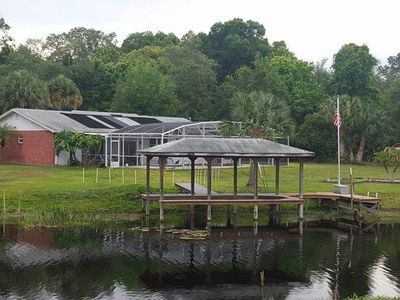 Photo for Prive Lake House with Pool, acreage, bring your jet skis', boat, kayaks and more