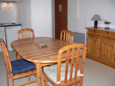 Photo for Fort Mahon Plage 2 room apartment near the beach, water sports and shops