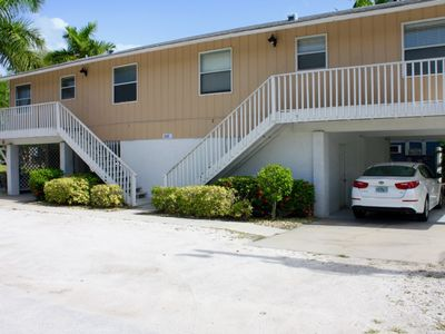 Photo for 1BR 1BA Across Beach, FREE Breakfast, Beach Chairs and Umbrella, Walk to Eats