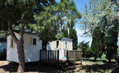Photo for Camping La Simioune *** - Mobile home Cigale 3 rooms 4 persons