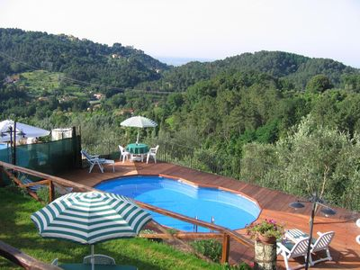 Photo for Farmhouse in Tuscany with swimming pool, jacuzzi garden 15 minutes from the sea